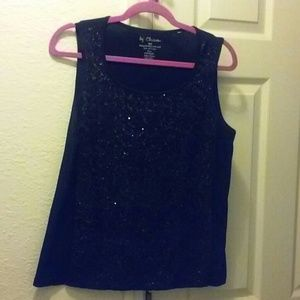 Chico's Sequined Tank